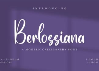 Berlossiana Font