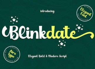 Blinkdate Font