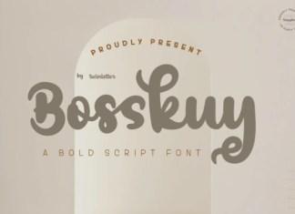 Bosskuy Font