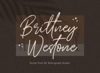 Brittney Westone Font