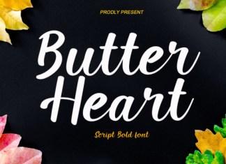 Butter Heart Font
