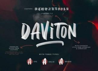 Daviton Font