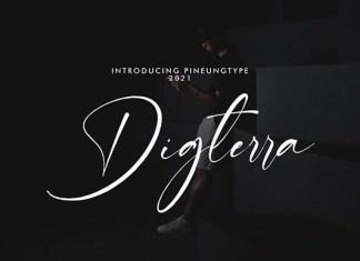 Digterra Font