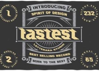 Fastest Font