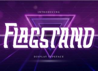 Flagstand Font