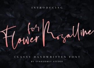 Flower for Rosalline Font
