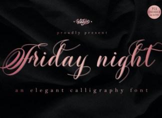 Friday Night Font