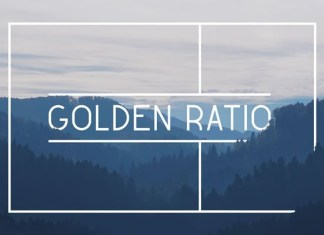 Golden Ratio Font