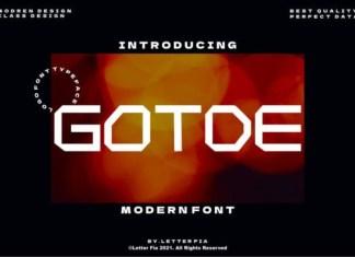 Gotde Font
