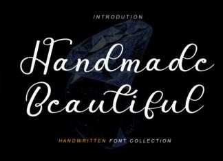 Handmade Beautiful Font
