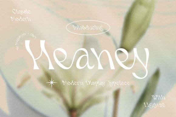 Heaney Font