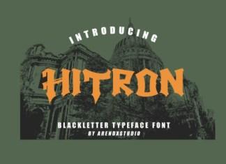 Hitron Font