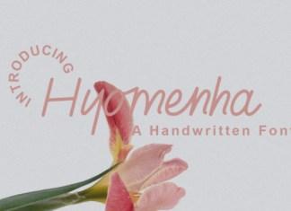 Hyomenha Font