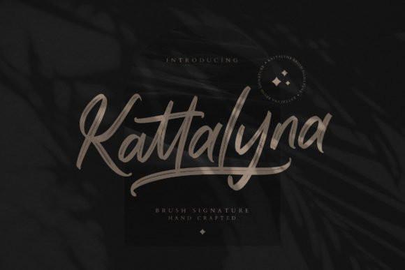Kattalyna Font