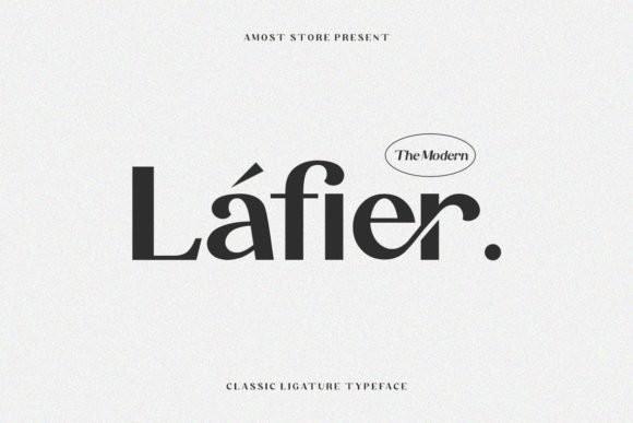 Lafier Font