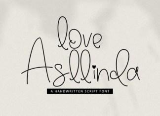 Love Asllinda Font