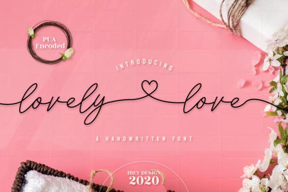 Lovely Love Font