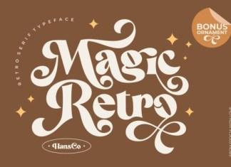 Magic Retro Font