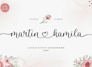 Martin Kamila Font