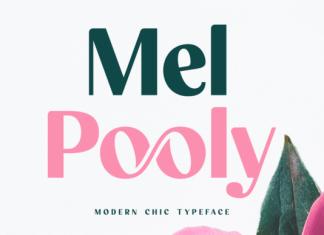 Mel Pooly Font