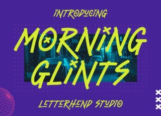 Morning Glints Font