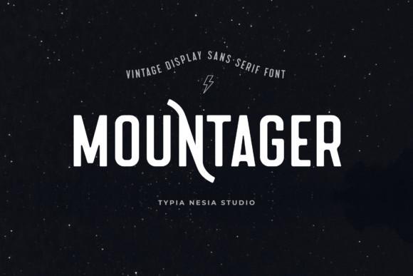 Mountager Font