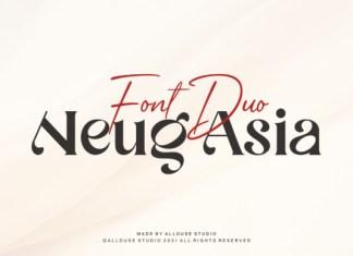 Neug Asia Font
