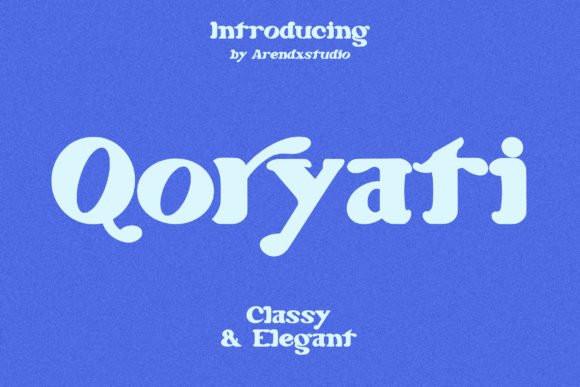Qoryati Font