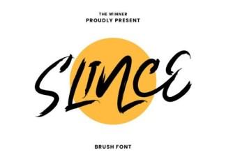 Slince Font