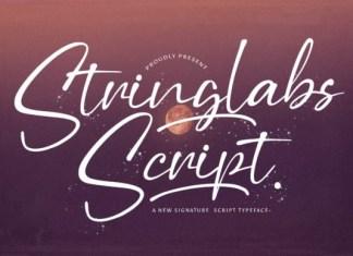 Stringlabs Script Font