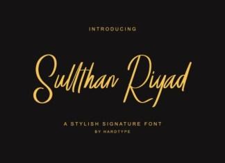 Sullthan Riyad FontSullthan Riyad Font