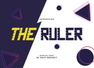 The Ruler Font