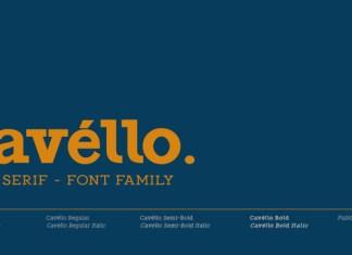 Cavello Font