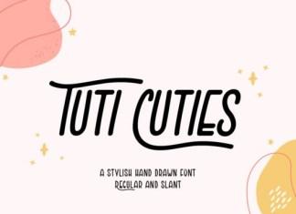 Tuti Cuties Font