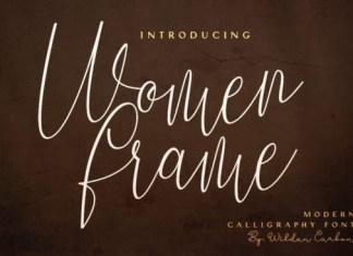 Women Frame Font