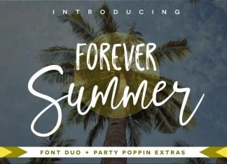 Forever Summer Font