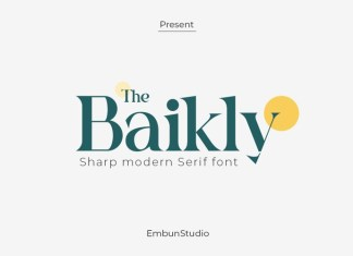 The Baikly Font