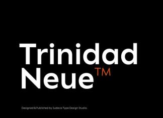 Trinidad Neue Font