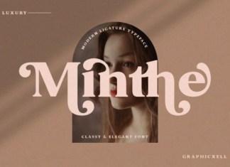 Minthe Font