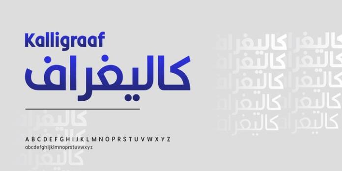 Kalligraaf Font