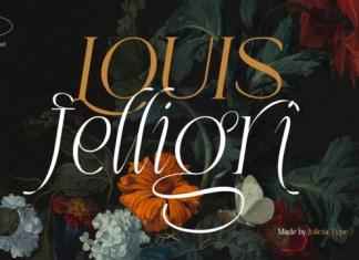 LOUIS Felligri Font