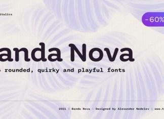 Banda Nova Font