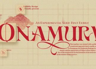 Onamura Font