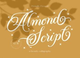 Almond Script Font