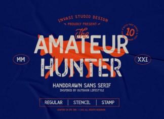 Amateur Hunter Font