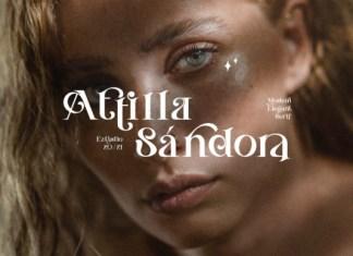 Attilla Sandora Font