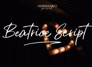 Beatrice Script Font