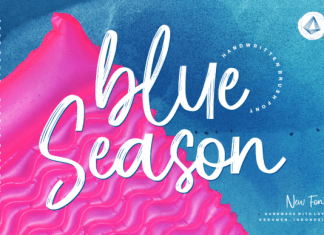 Blue Season Font