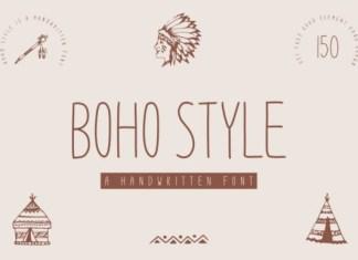 Boho Style Font