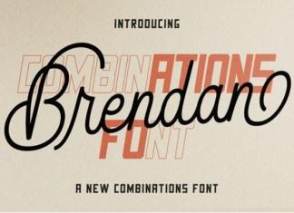 Brendan Duo Font